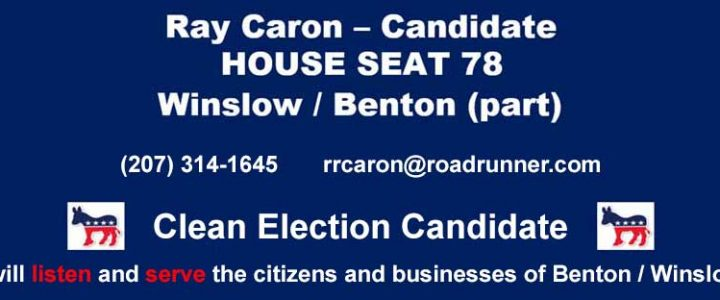 Ray Caron for Legislature